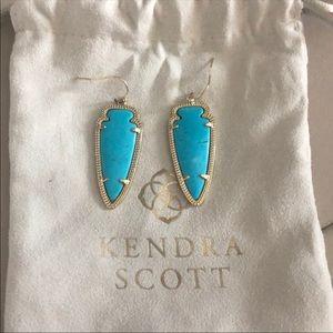 Kendra Scott sky earrings